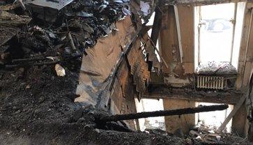 Обгоревшее здание одесского колледжа может рухнуть в любой момент - фото 1