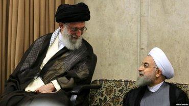 Хасан Рухани смеется над шутками высшего руководителя Ирана - фото 1