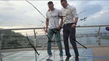 Кличко сэкономил на стеклянном мостике: Он сам об этом заявил - фото 1