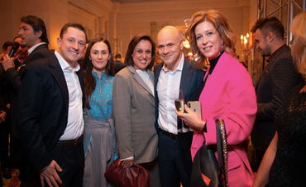 Михаил Радуцкий с женой и друзьями - фото 1