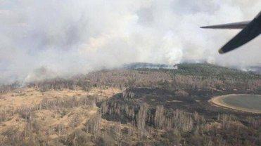 Пожар в Зоне отчуждения наконец-то находится под контролем - фото 1