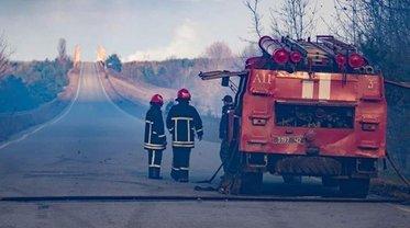 Спасатели пробивают дорогу к тлеющим участкам леса - фото 1