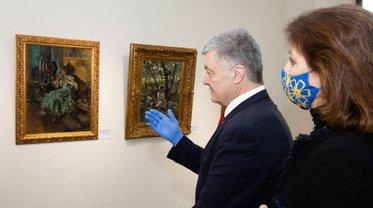 Картины Порошенко находятся под арестом, а сам он игнорирует допросы - фото 1