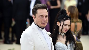 Илон Маск с женой - фото 1