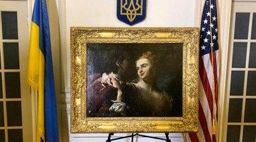 Украденную нацистами картину вернули в Украину - фото 1
