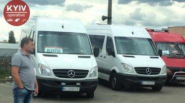 Бандюки-крышевальщики нелегальных маршруток запрещают всем возить пассажиров - фото 1