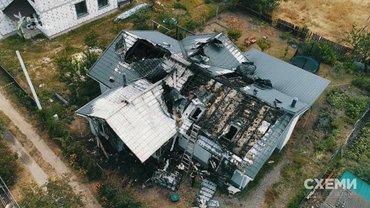 Дом Шабунина фактически полностью уничтожен - фото 1