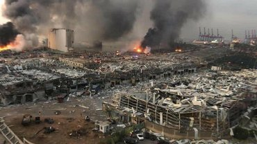 В ходе взрыва в Бейруте могли пострадать украинские корабли и моряки - фото 1