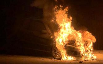 Гео Леросу сожгли машину: Все подробности – ФОТО, ВИДЕО  - фото 1