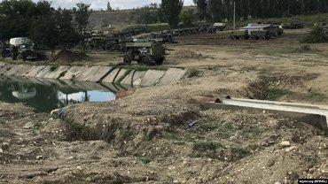 Русские перекрыли реку ради водоснабжения Симферополя - фото 1