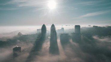 Киев заволокло смогом и смрадом: Что происходит - фото 1