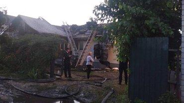 Пожар в доме Шабунинка: Экспертиза установила причину  - фото 1