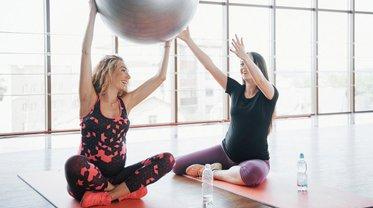 Зарядка для беременных: специальные упражнения от Eva Blog - фото 1