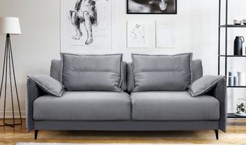 Прямые диваны: особенности и виды - фото 1
