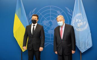 Володимир Зеленський запросив Генерального секретаря ООН Антоніу Гутерріша з візитом до України - фото 1