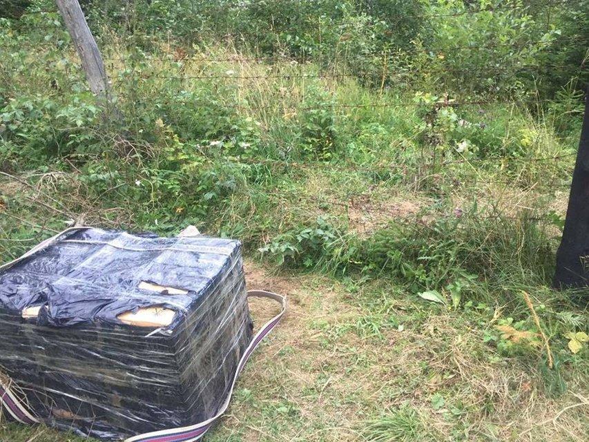 На границе с Румынией перехвачено почти 5 тыс пачек сигарет контрабанды - фото 8862