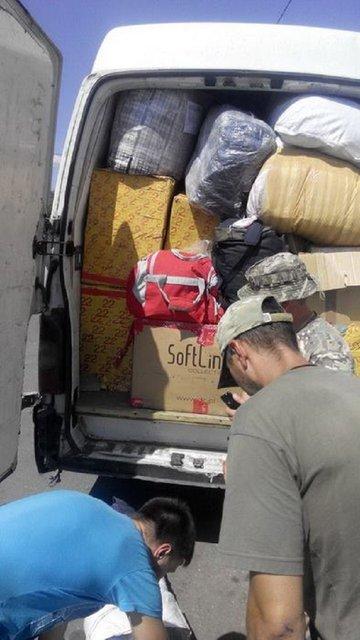 На оккупированный Донбасс пытались провезти запчасти к беспилотникам - фото 7648