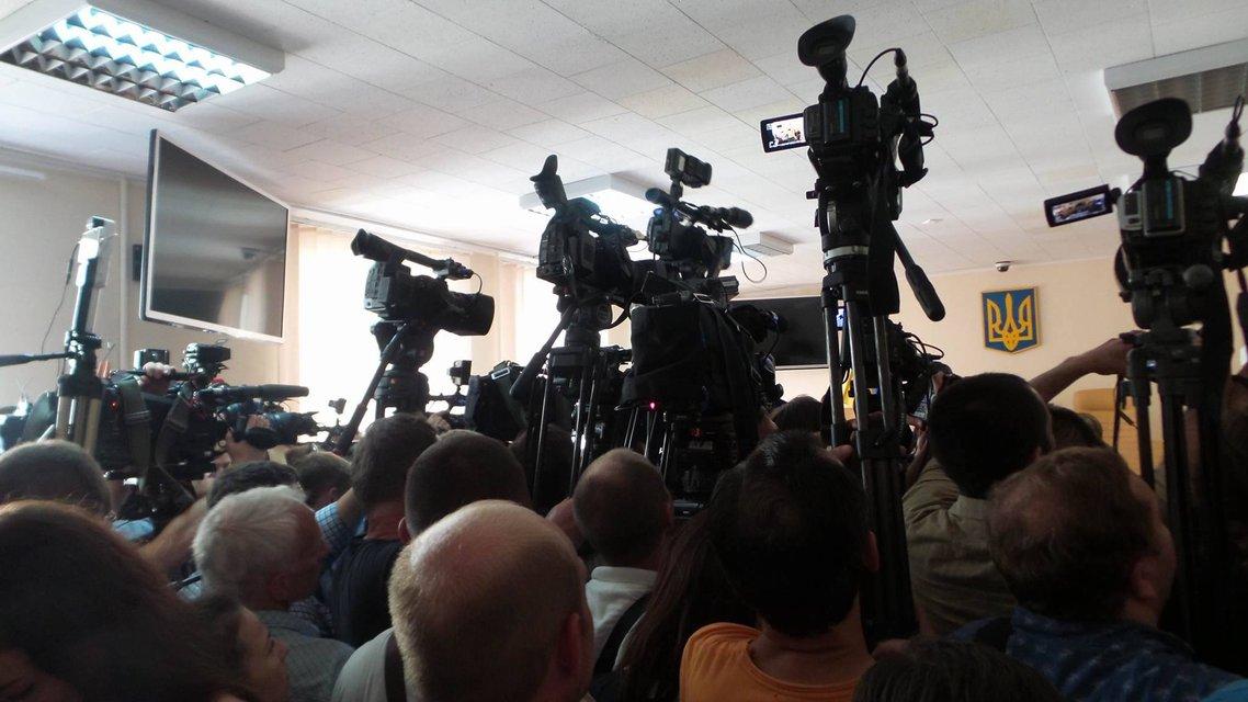 В Киеве началось заседание суда по избранию меры пресечения Ефремову - фото 6900