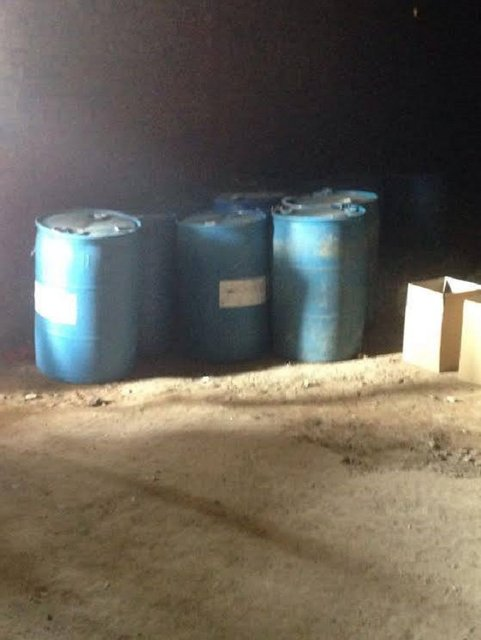На границе с Россией перехватили больше 1 тыс литров контрабандного спирта - фото 10351