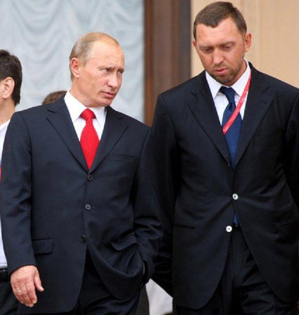 Дерибаско и Путин - фото 8770
