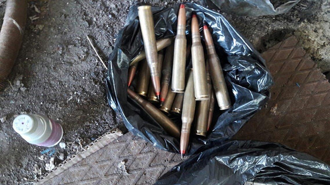За сутки на Донбассе СБУ изъяла 2 гранатомета, 14 гранат и более 2 тысяч патронов  - фото 18492