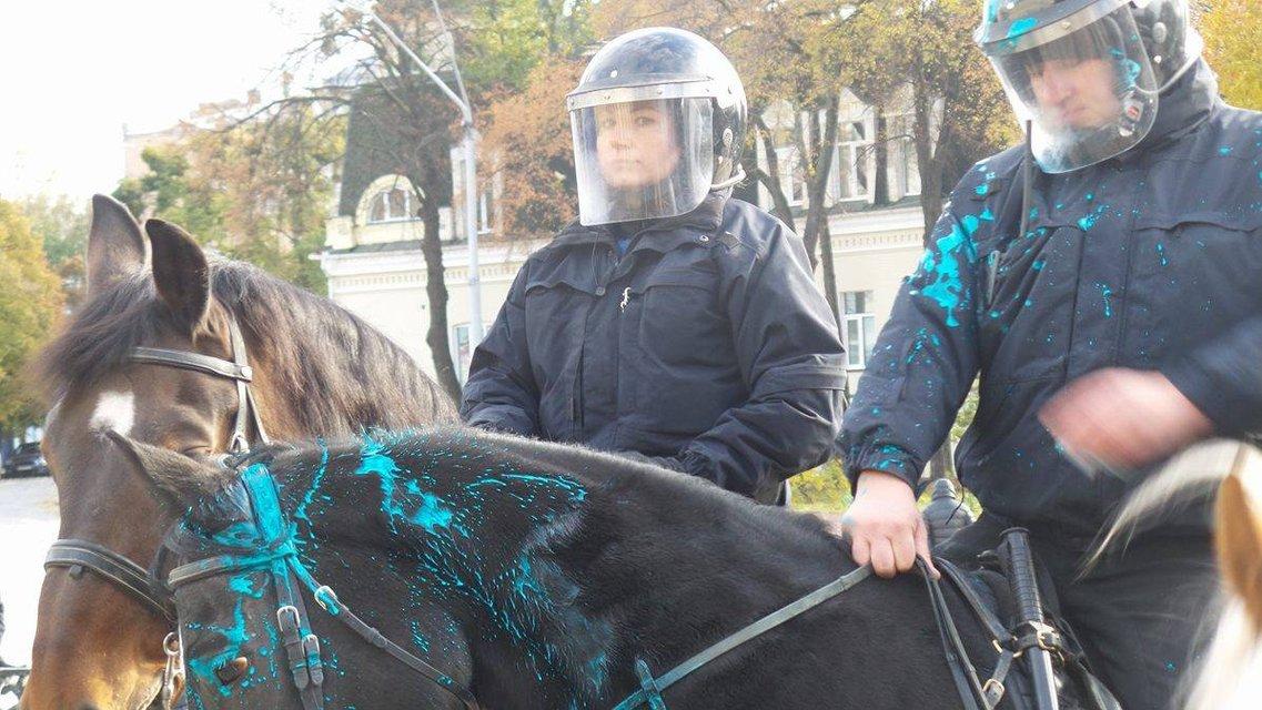 В Киеве прозошли потасовки между противниками и сторонниками легализации марихуаны - фото 19248