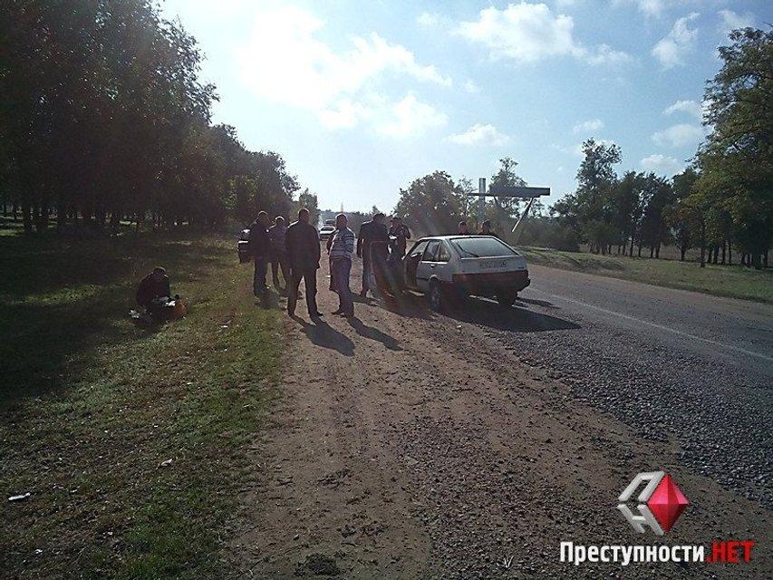 Пьяный полицейский сбил пешехода в Николаевской области - фото 15285