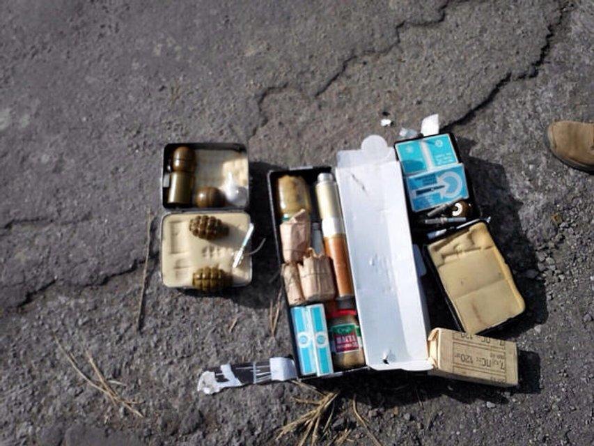За сутки на Донбассе СБУ изъяла 2 гранатомета, 14 гранат и более 2 тысяч патронов  - фото 18490