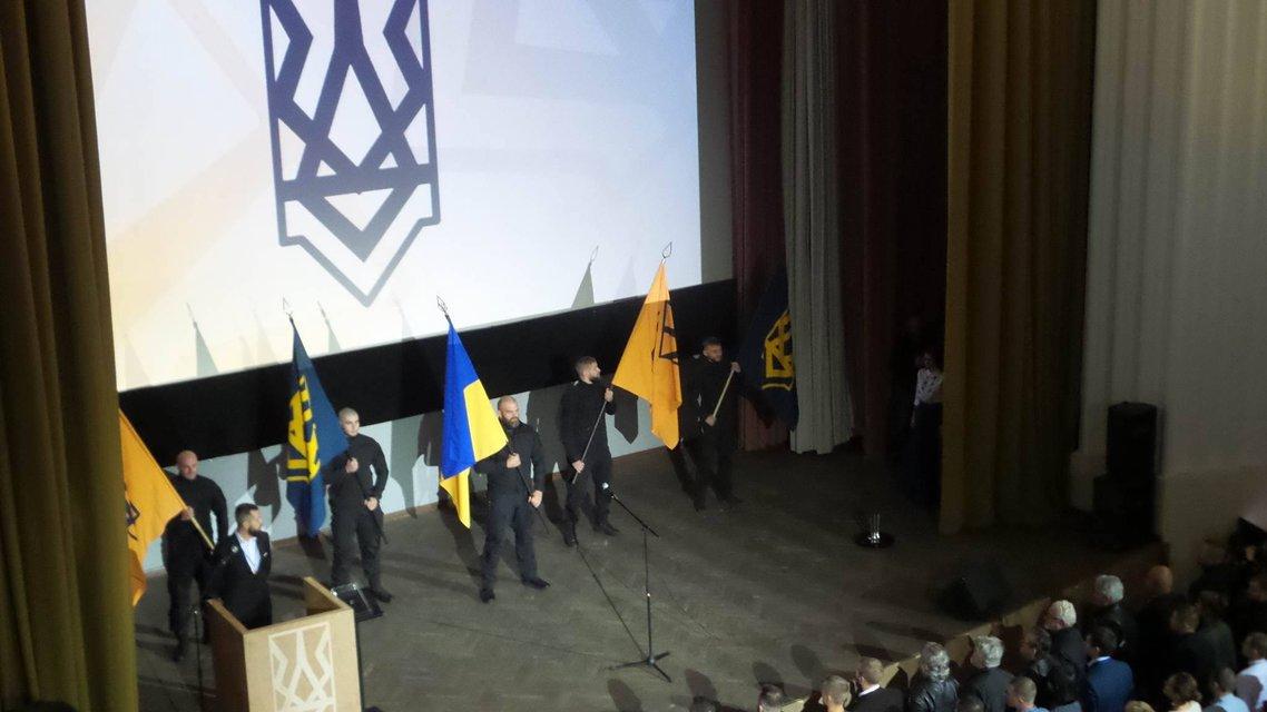 Билецкого избрали главой партии Национальный корпус - фото 17180