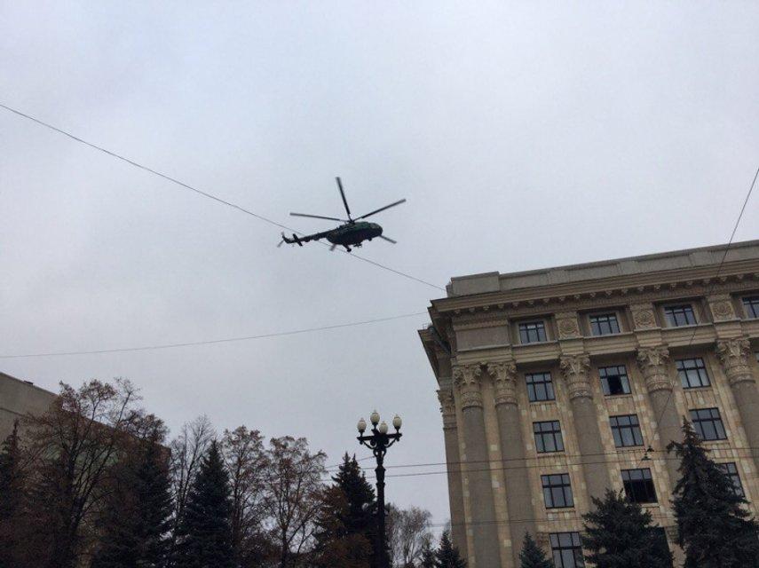 В Харькове состоялись масштабные антидиверсионные учения СБУ - фото 22495