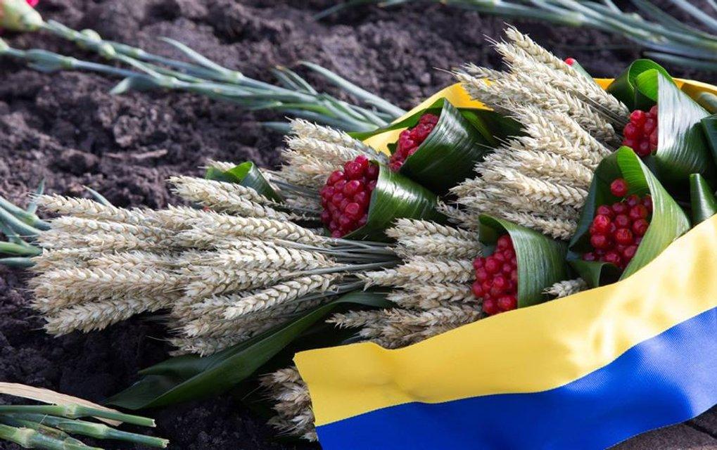 По случаю Дня памяти жертв голодоморов Порошенко призвал сохранить Украину единой - фото 23540