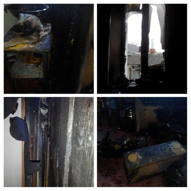 В Днепропетровской области горела церковь Московского патриархата - фото 20546