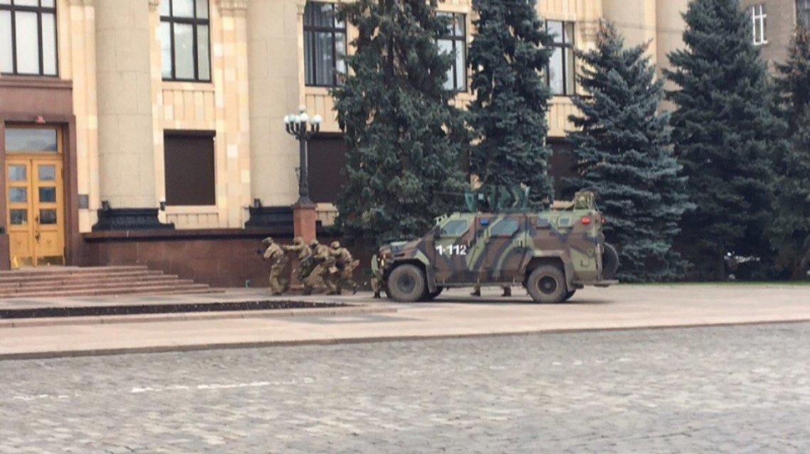 В Харькове состоялись масштабные антидиверсионные учения СБУ - фото 22493