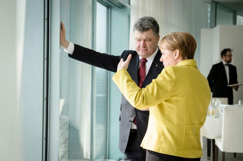 Порошенко, Меркель и окно в Европу - фото 22399