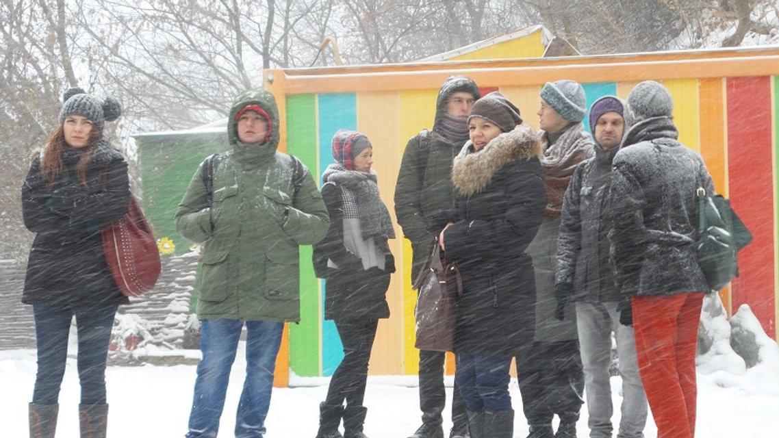 Естетика протесту. «Театральний Майдан» на Андріївському - фото 24019