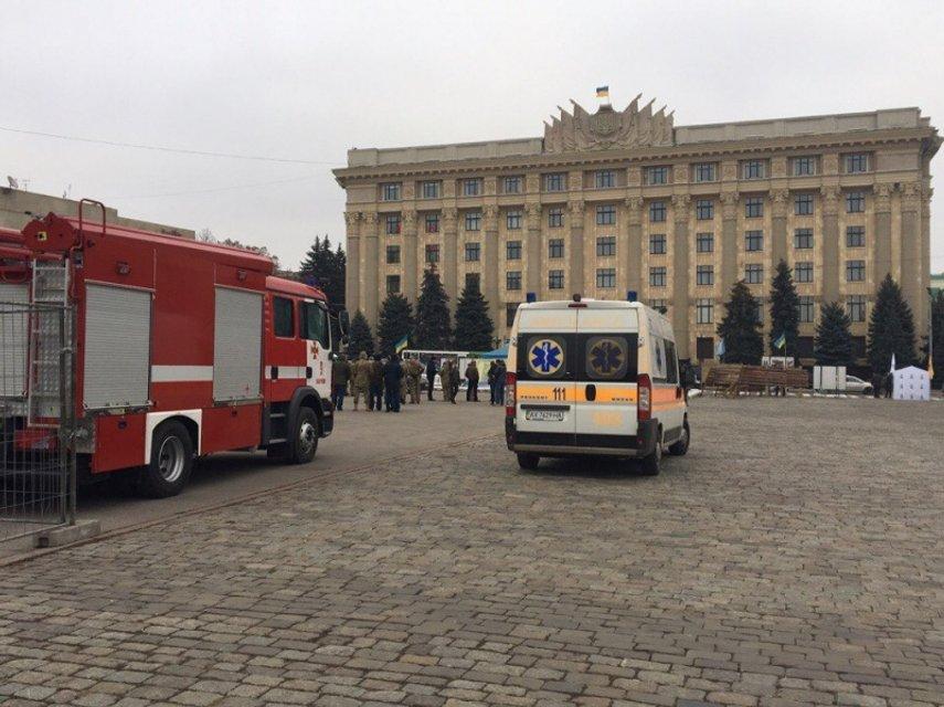 В Харькове состоялись масштабные антидиверсионные учения СБУ - фото 22496