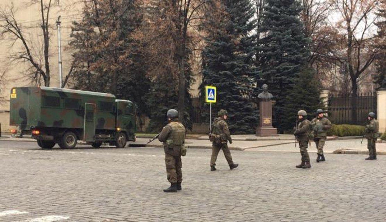 В Харькове состоялись масштабные антидиверсионные учения СБУ - фото 22491