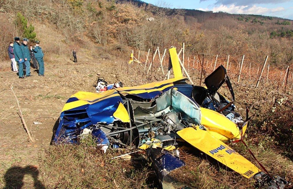 В авиакатастрофе погибли три человека - фото 23986