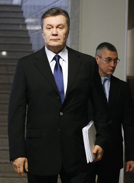 Онлайн-трансляция допроса Януковича: Попытка №2 - фото 23833