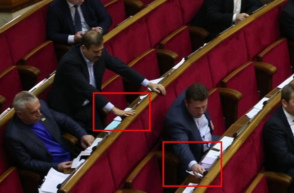Депутат Яценко устроил настоящий фестиваль кнопкодавства в ВР - фото 22321