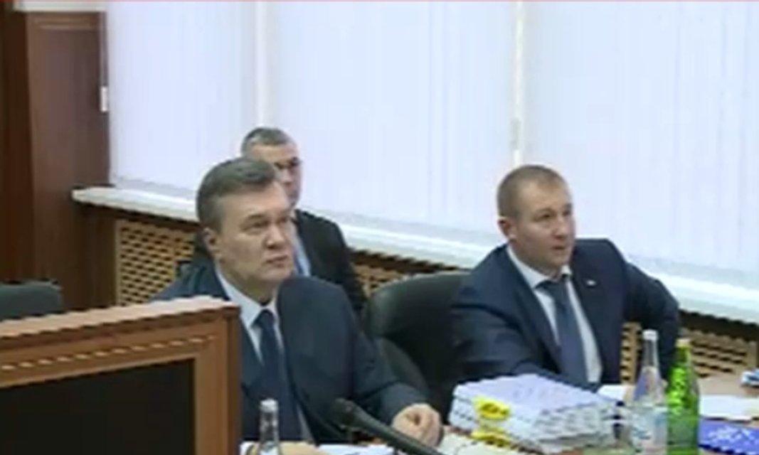 Допрос Януковича: онлайн-трансляция - фото 23405