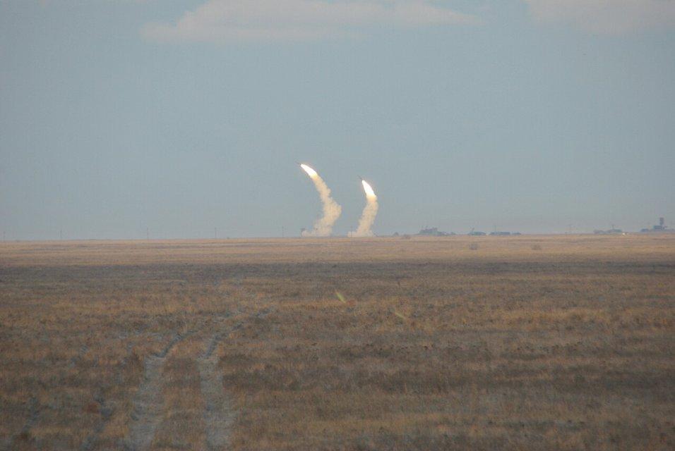Появились первые фото украинских ракетных учений вблизи Крыма - фото 24333