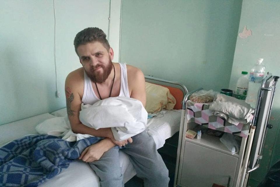 Євгенм Сагуйченко після конфлікту опинився у лікарні - фото 26298