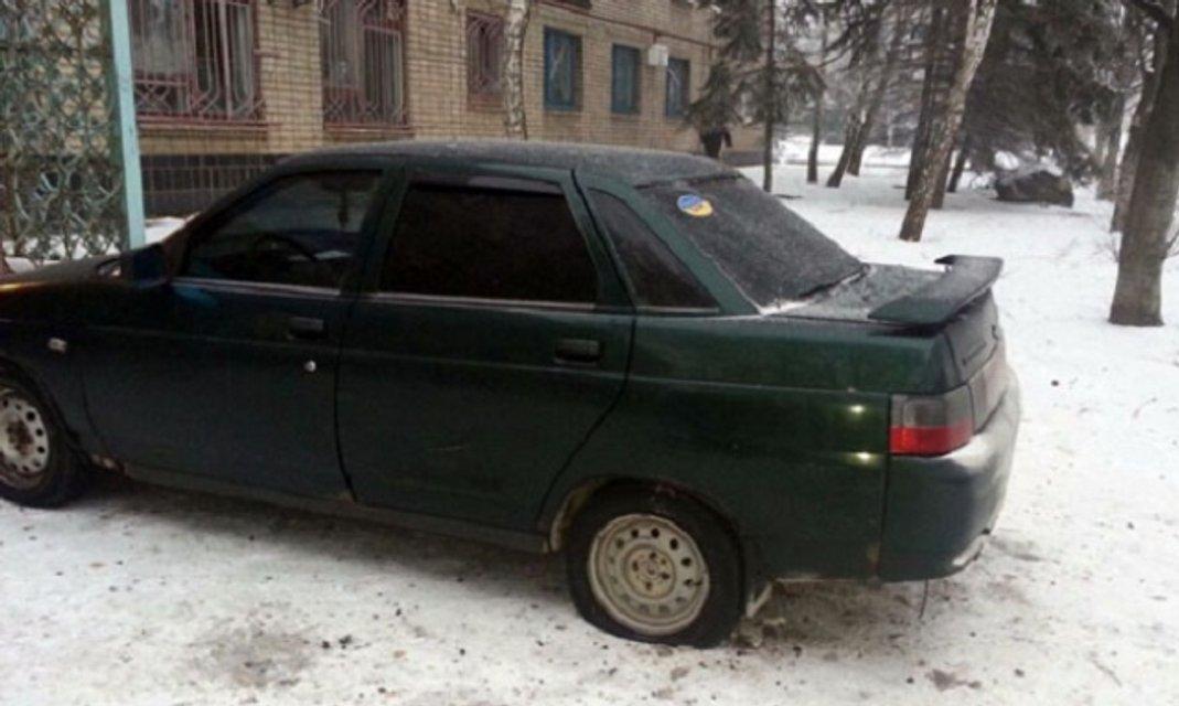 Боевики обстреляли жилой квартал в Светлодарске - фото 27718