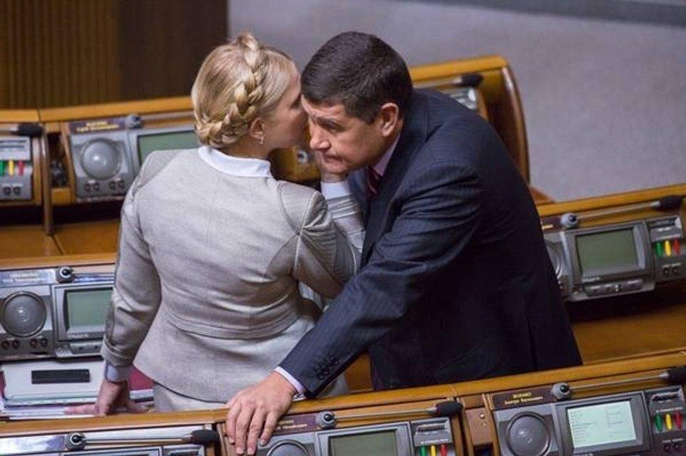 Юлия Тимошенко и Александр Онищенко-Кадыров