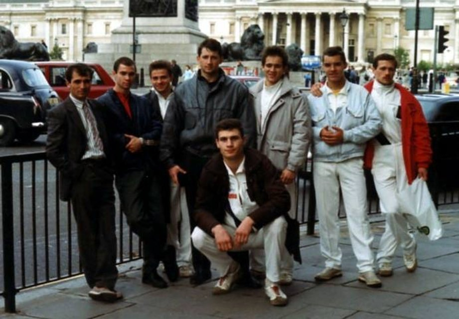 Кик-боксер в спортивках: в сети опубликовали фото молодого Кличко  - фото 24931