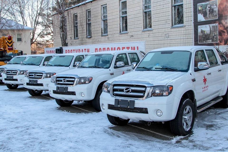 Китай передал Украине аварийно-спасательного оборудования на 185 млн грн  - фото 26638