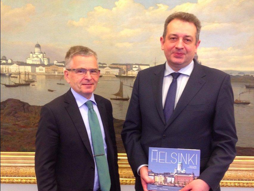 украинский посол в Финляндии Андрей Олефиров