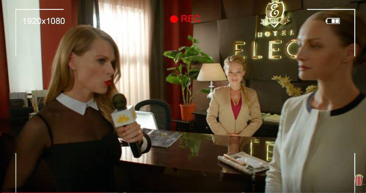 Без комплексов. Ведущая украинских шоу Фреймут снимается в российском кино - фото 27229