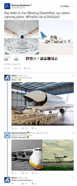 Самый большой самолет: Антонов затроллил американский Boeing и французский Airbus - фото 31004